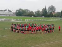 Rugby Experience, allenamenti congiunti a Treviso con la Benetton