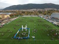 Più di mille bambini per le Feste del Rugby all'Aquila
