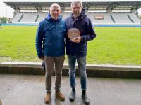 A 10 anni dal terremoto Morelli premia la Benetton Rugby