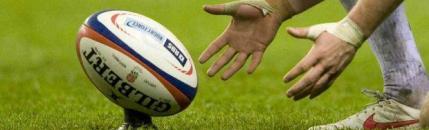 Il programma del rugby nel fine settimana